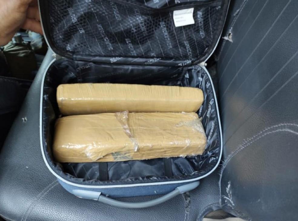 Drogas encontradas com alvos de operação nesta segunda — Foto: Divulgação/MP-SP