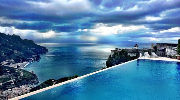 O Belmond Hotel Caruso fica em uma das mais belas regiões italianas (Foto: Divulgação)