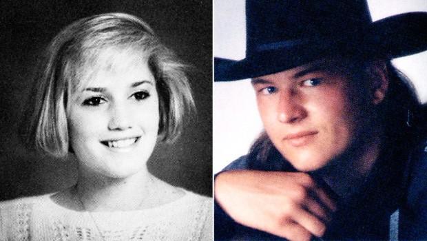 Gwen Stefani e Blake Shelton na adolescência (Foto: Reprodução)