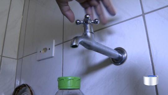 Moradores reclamam de falta de água em de dois bairros de Jacareí