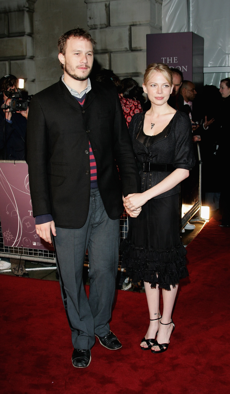 Heath Ledger e Michelle Williams em uma foto de 2006 (Foto: Getty Images)