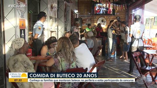 'Comida Di Buteco': conheça as famílias que estão participando do concurso