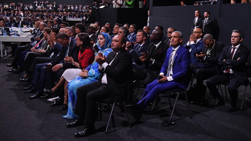 Delegação do Marrocos em Congresso (Foto: Getty Images)