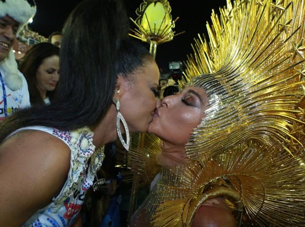 Sabrina Sato e Viviane Araújo (Foto: Dilson Silva / AgNews)