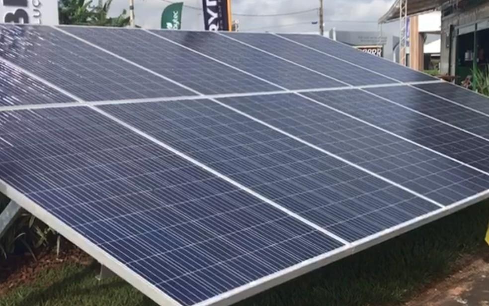 Palestra 'Sustentabilidade e influência da energia solar' é realizada em Petrolina. — Foto: Vanessa Martins/G1