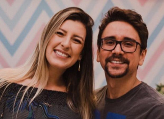 O sertanejo Davi e a mulher, Samantha Lambert (Foto: Reprodução/Instagram)