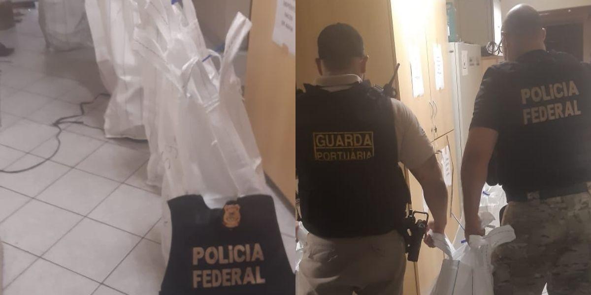 Polícia Federal prende três homens após encontrar 184 kg de cocaína dentro de contêiner no Porto de Santos, SP