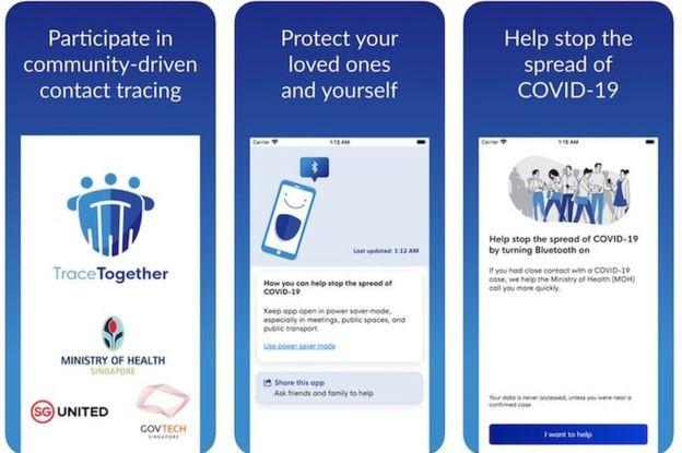 Cingapura adotou aplicativo para monitorar casos confirmados e suspeitos de coronavírus e divulga na internet dados de que contraiu o vírus (Foto: SINGAPORE GOVERNMENT)