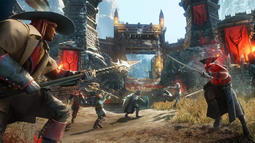 No modo Invasões, os jogadores deverão enfrentar hordas de monstros — Foto: Divulgação Amazon Studios