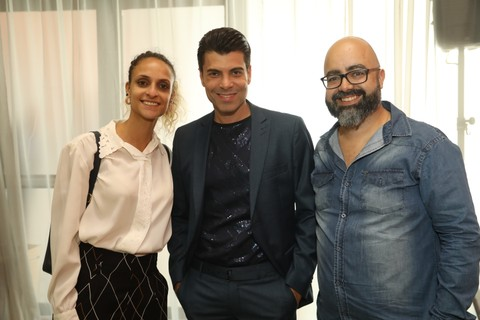 Raissa Germano, Henrique Freneda e Danilo Martins