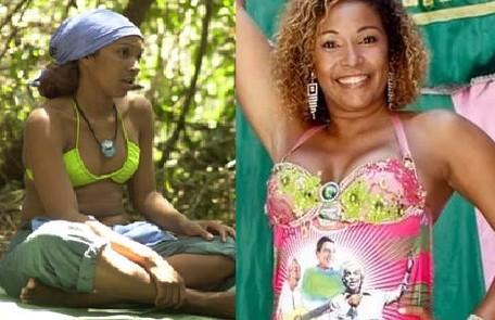Duas vezes rainha de bateria da Mangueira, Tânia Bisteka participou do 'No limite' 3. Atualmente, ela é esteticista e ainda está envolvida com a escola de samba carioca Reprodução