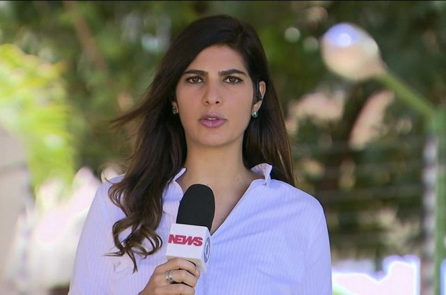 Andréia Sadi na GloboNews (Foto: Reprodução)