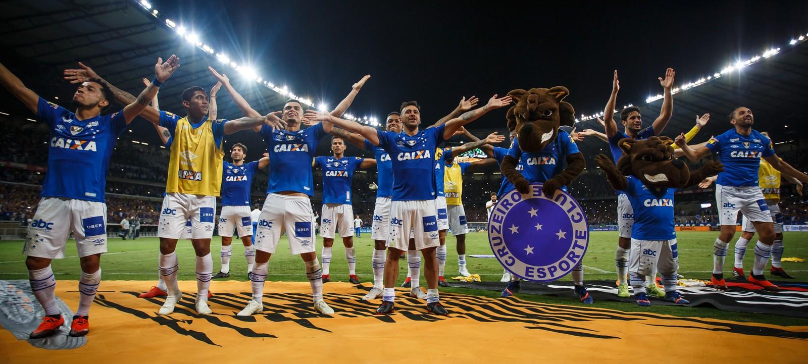 Cruzeiro lidera lista de premiações em competições mata-matas no futebol brasileiro na temporada