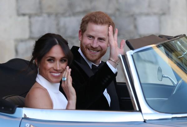 Meghan Markle e príncipe Harry: a norte-americana afirma ser birracional por ter pai branco e mãe afro-americana (Foto: Getty Images)
