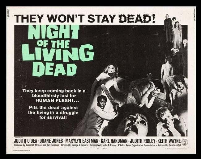 A Noite dos Mortos-Vivos (1968) (Foto: Divulgação)