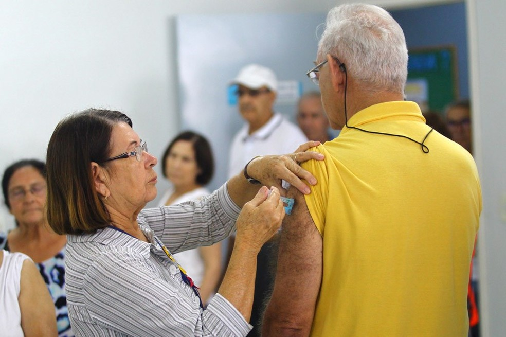 Cerca de 250 mil idosos deverão ser vacinados na região durante a campanha (Foto: Claudio Vieira/Prefeitura SJC)
