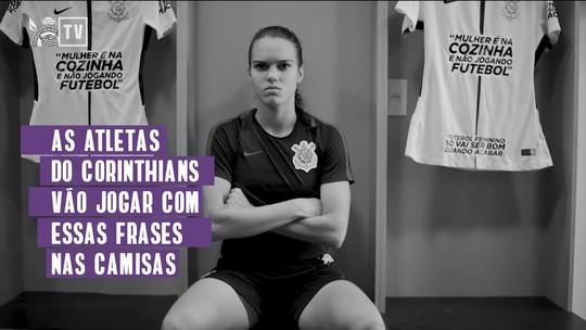 Corinthians lança campanha de marketing contra o preconceito ao futebol feminino