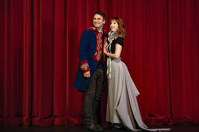Murilo Rosa e Karina Sasso (Foto: Caio Gallucci)