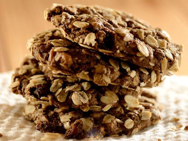 Receita de cookies de aveia (Foto: Julio Acevedo)