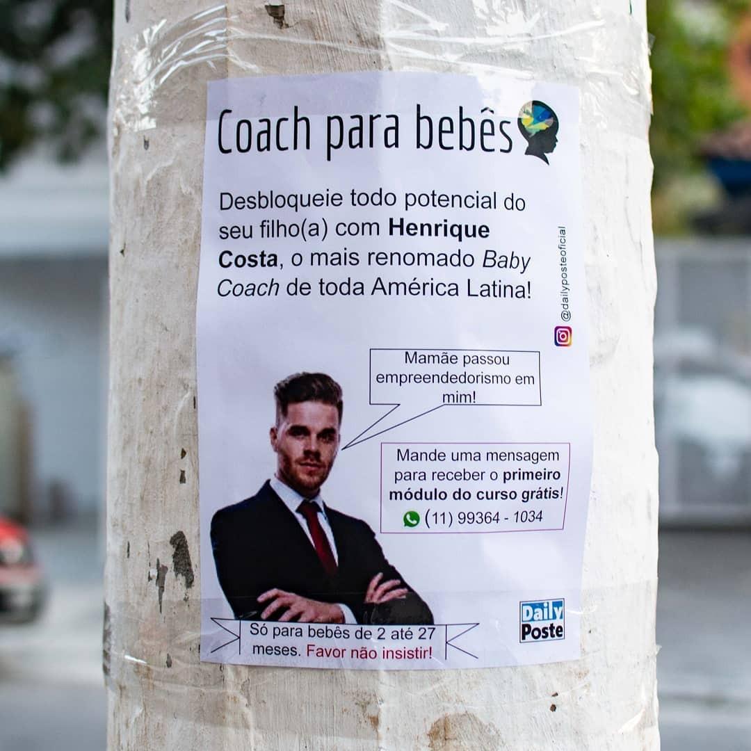Anúncio de coches de bebês do Daily Poste (Foto: Reprodução)