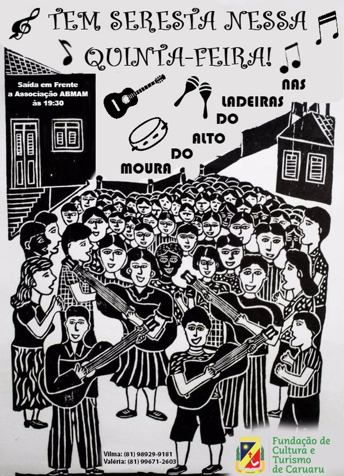 'Seresta Alto do Moura' é realizada nesta quinta-feira (18) em Caruaru
