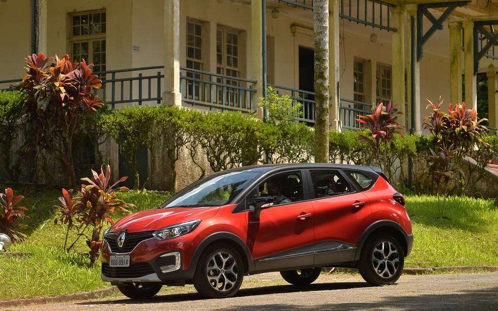 Renault Captur (Foto: Gustavo Epifânio / Renault )