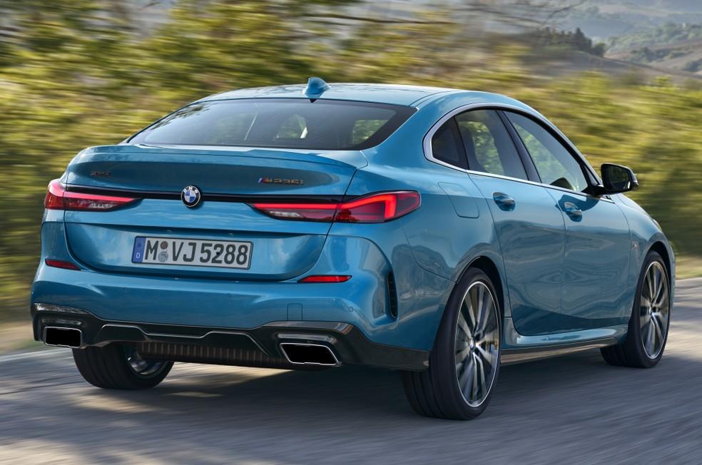BMW Série 2 Gran Coupé — Foto: Divulgação/BMW