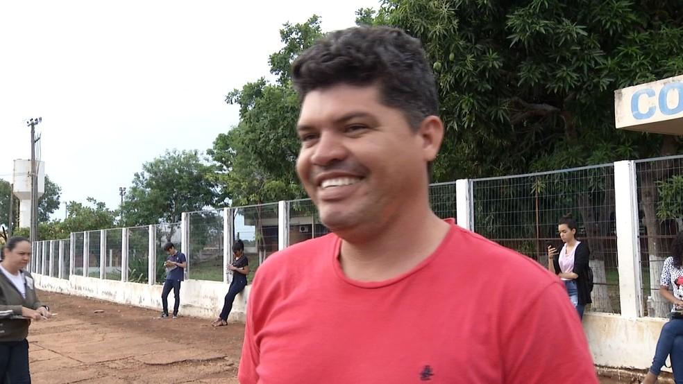 ENEM 2019 - DOMINGO (3) - PALMAS (TO) - Motorista avalia tema da redação — Foto: Reprodução/TV Anhanguera