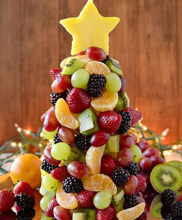 Decoração de natal com comida (Foto: Pinterest/Reprodução)