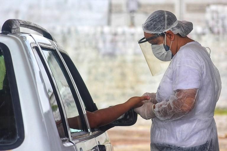 Casos de coronavírus na Paraíba em 2 de junho