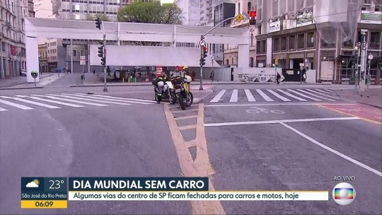 Com ruas bloqueadas, Centro de SP amanhece vazio