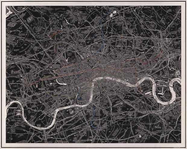 Pôster <em>London Subterranea</em>, 2012