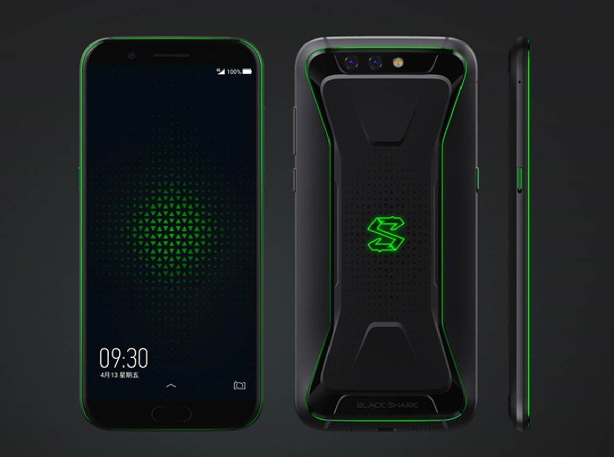 Celular Gamer Xiaomi Black Shark Traz 8 Gb De Ram E Bateria Potente Celular Techtudo