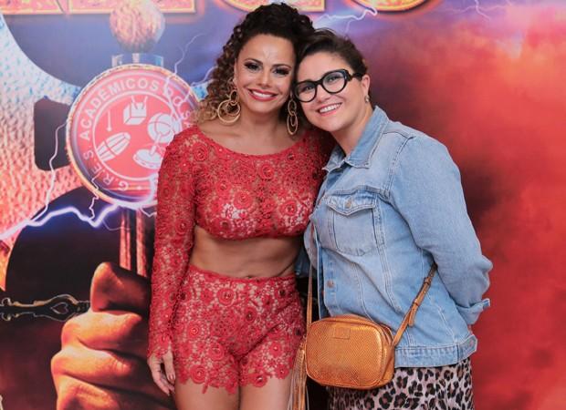 Viviane Araújo e Maria RIta (Foto: Alex Nunes/Divulgação)