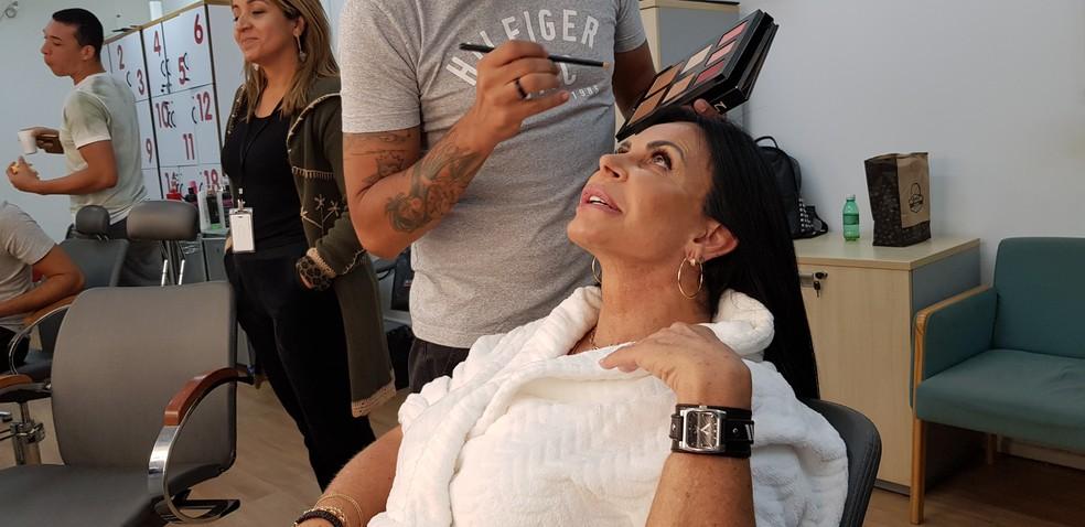 Gretchen adora procedimentos estéticos e não dispensa uma novidade — Foto: Mariana Brugger/Gshow