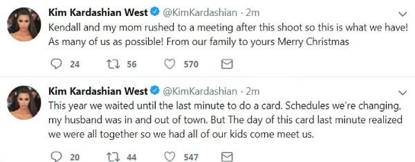 Posts de Kim Kardashian (Foto: Reprodução Twitter)
