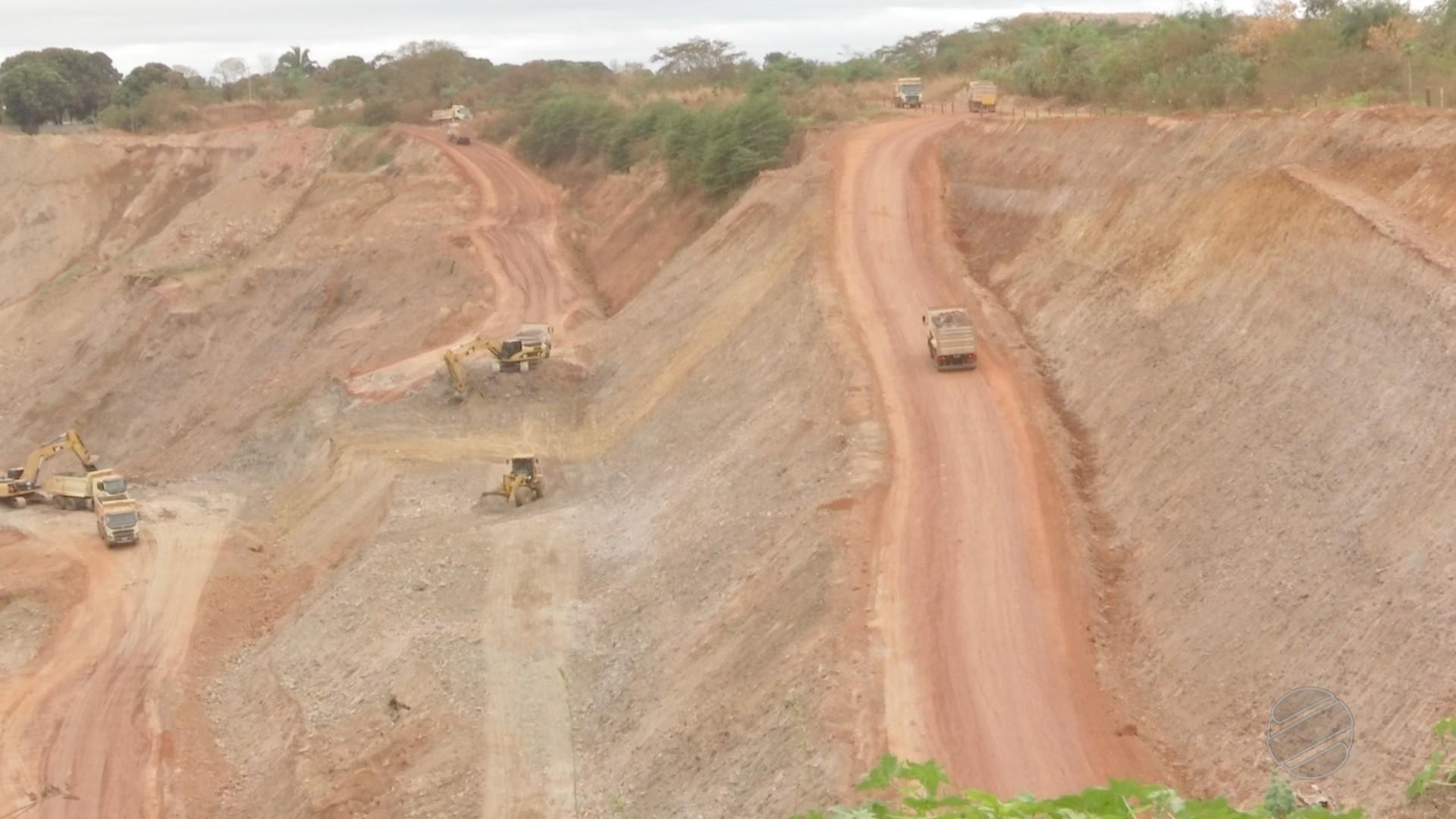 Garimpo é interditado por risco de desabamento de barragem e falta de profissional habilitado em MT