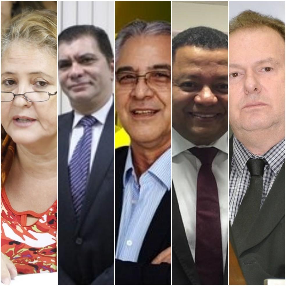 Candidatos ao governo do Tocantins (Foto: Arte G1)