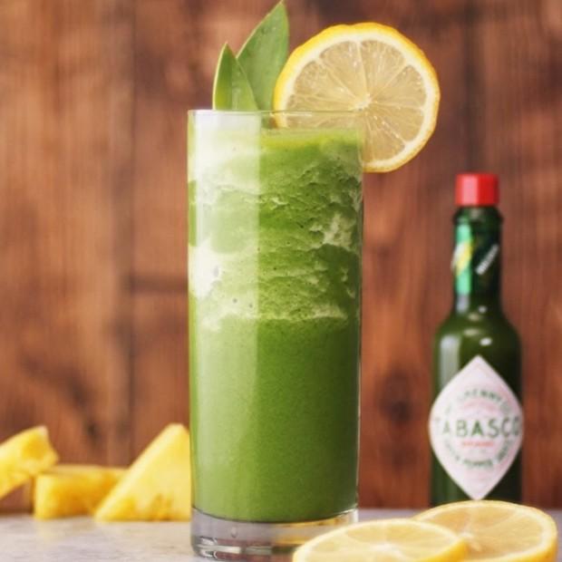 Smoothie verde com molho de pimenta jalapeño (Foto: Divulgação)