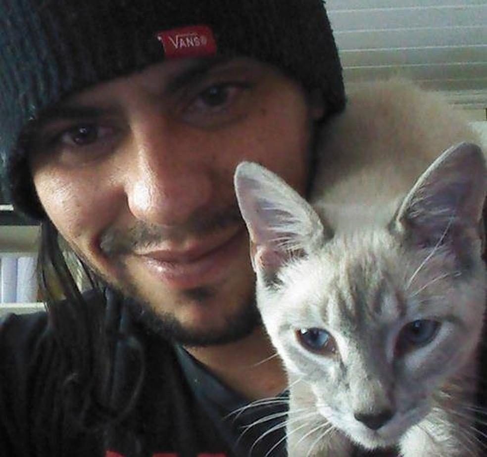 Programador do aplicativo Adotapet, Marlon Henrique Ramalho, de 33 anos  — Foto: Arquivo pessoal