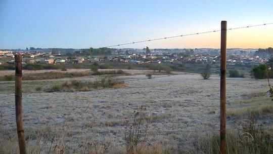 Com temperaturas negativas, Rio Grande do Sul tem dia mais frio do ano nesta terça-feira