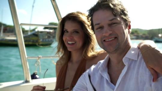 Malapia ganha iate com nome do casal; assista às cenas exclusivas!