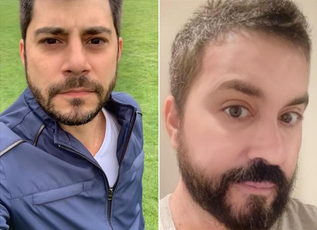 Evaristo Costa e Padre Fábio de Melo (Foto: Reprodução / Instagram)