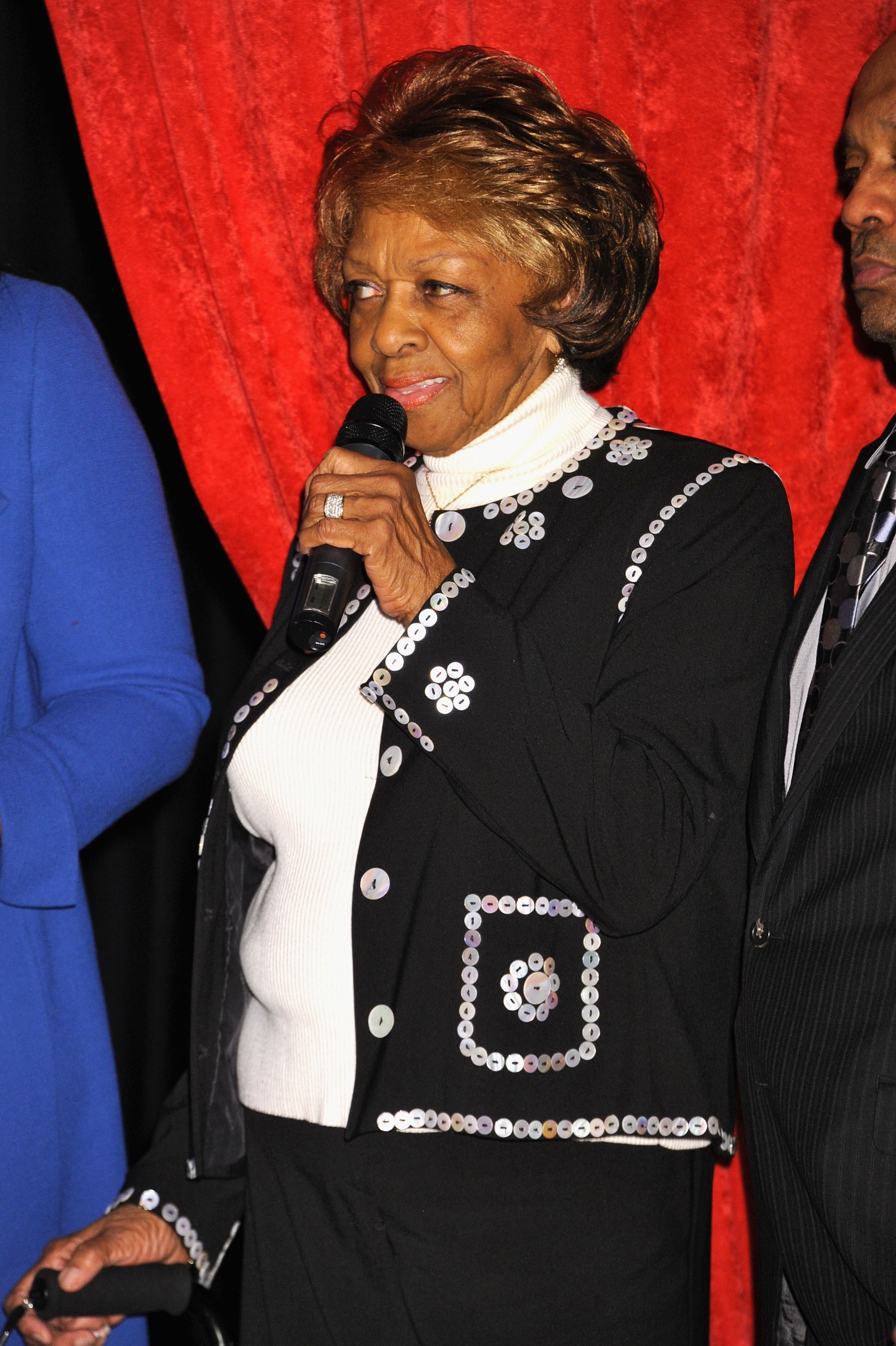 A mãe da cantora Whitney Houston, Cissy Houston (Foto: Getty Images)