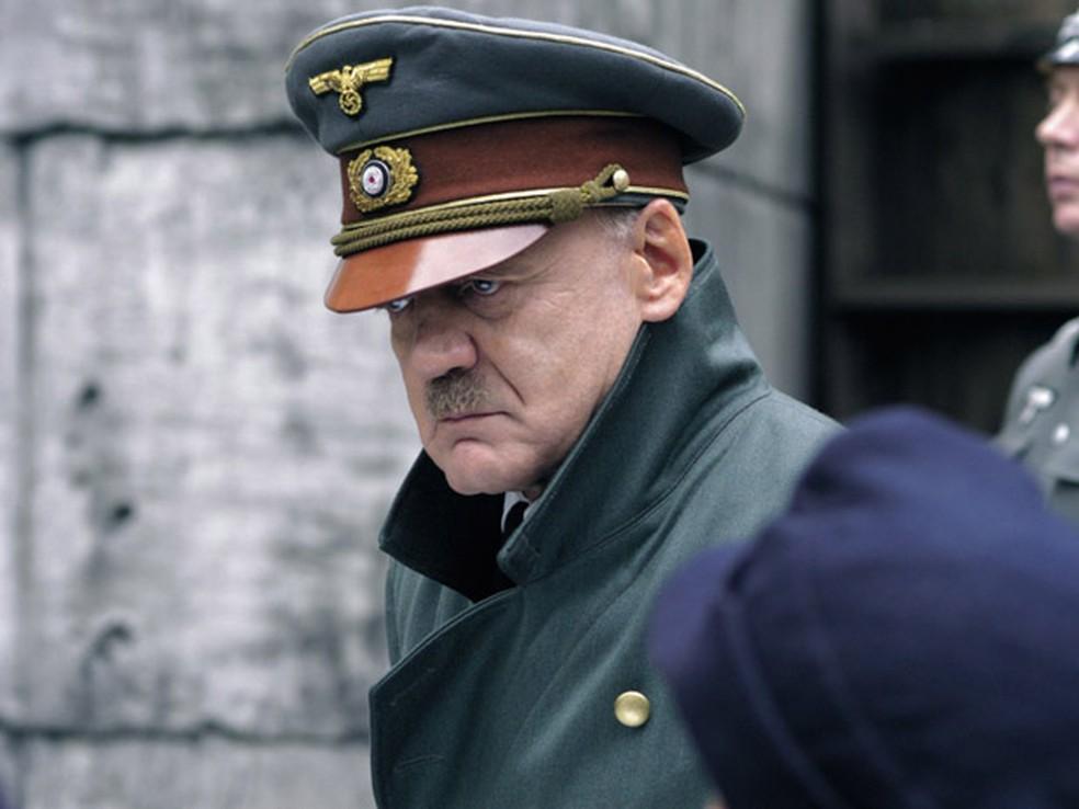 Bruno Ganz em 'A queda! As últimas horas de Hitler' (2004) — Foto: Divulgação