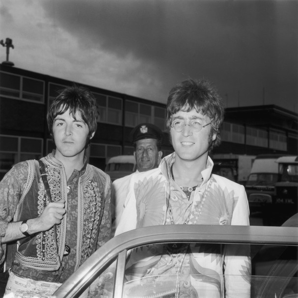 Paul McCartney e John Lennon (Foto: Getty Images)
