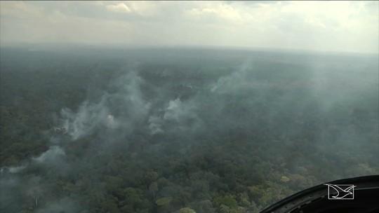 Maranhão registra mais de cinco mil focos de incêndio