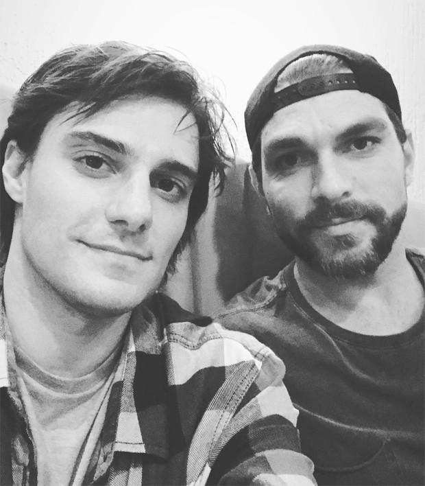 Hugo Bonemer e Conrado Helt (Foto: Reprodução/Instagram)