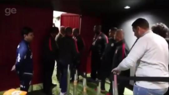 Vídeo mostra dirigentes e funcionários do Inter ofendendo árbitro; STJD vai analisar imagens