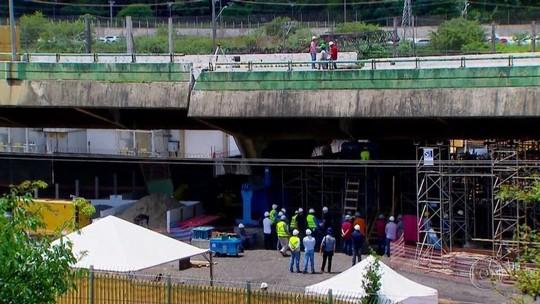 Fantástico entra em pontos do viaduto que cedeu na Marginal Pinheiros